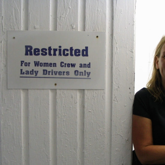 Restricted: For Women Crew and Lady Drivers Only