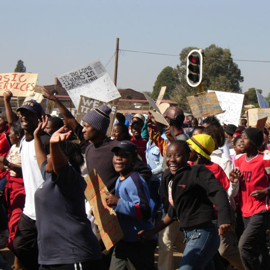 Soweto rally